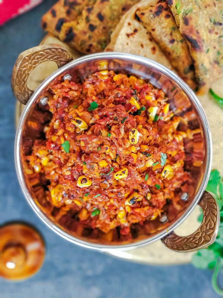 Corn Bharta