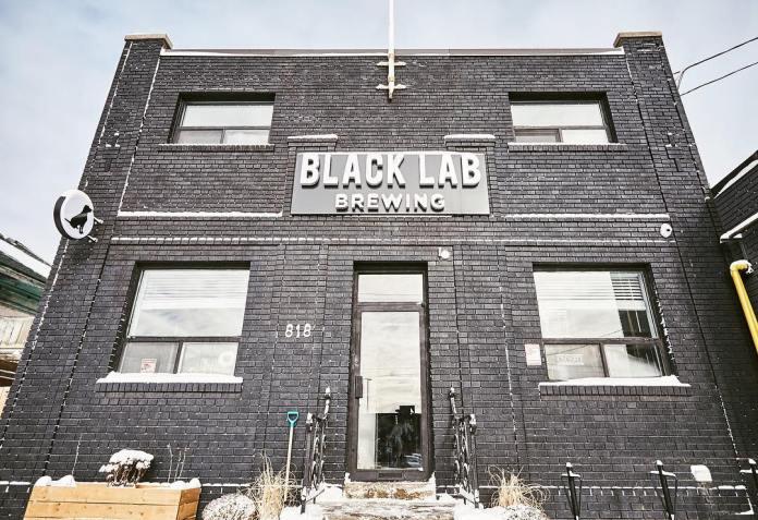 Black Lab brewing