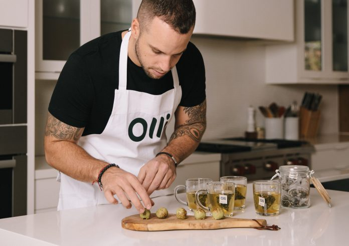 Chef with Cannabis
