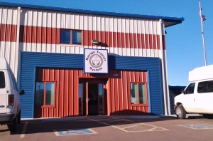 The Navajo Transit System headquarters in Fort Defiance, Ariz. Photo by Marley Shebala