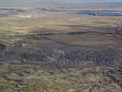 Navajo coal mine image by Ecoflight.