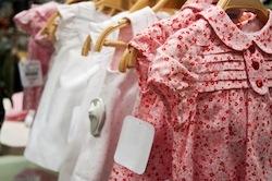 Vente à domicile de vêtements pour enfants
