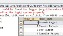 Hibernate Count Query - Dinesh on Java