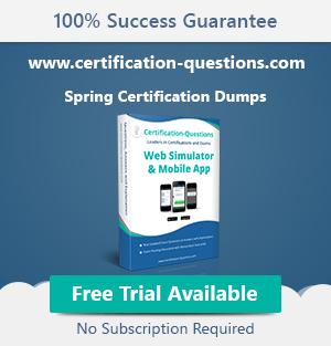 spring certification