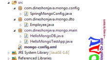 Spring Data MongoDB : Query document - Dinesh on Java