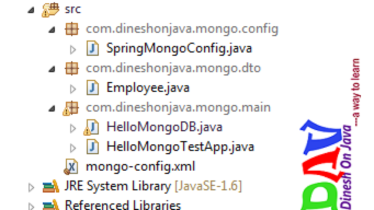 Spring Data MongoDB : Delete document - Dinesh on Java