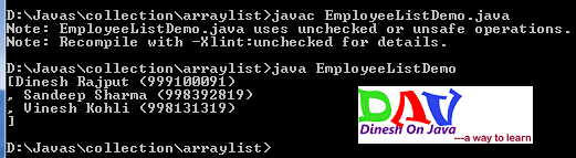 ArrayList Class in Java Collection Framework - Dinesh on Java