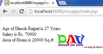 JSP UseBean Tag - Java Server Pages - Dinesh on Java