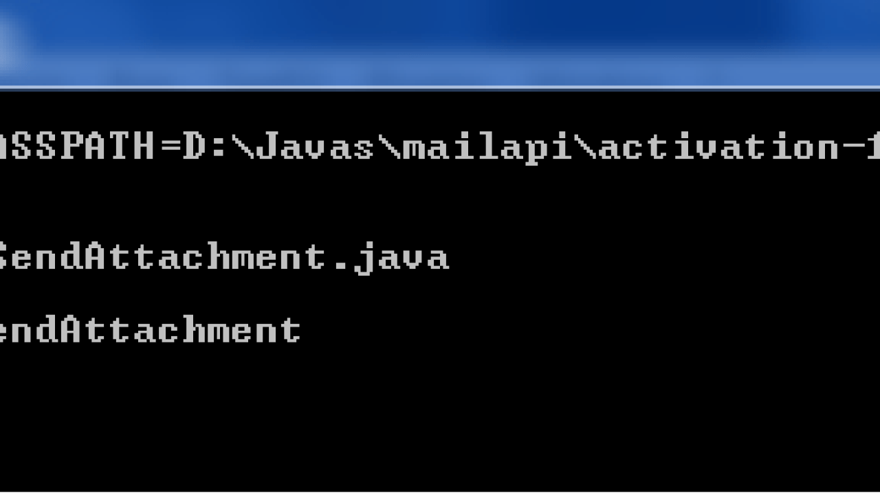 Sending Email with Attachments using JavaMail - Dinesh on Java