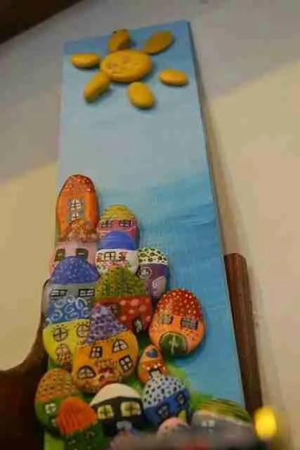 Βότσαλα πάνω σε καμβά: 35 υπέροχοι πίνακες με βότσαλα για να ομορφύνετε το σπίτι σας!