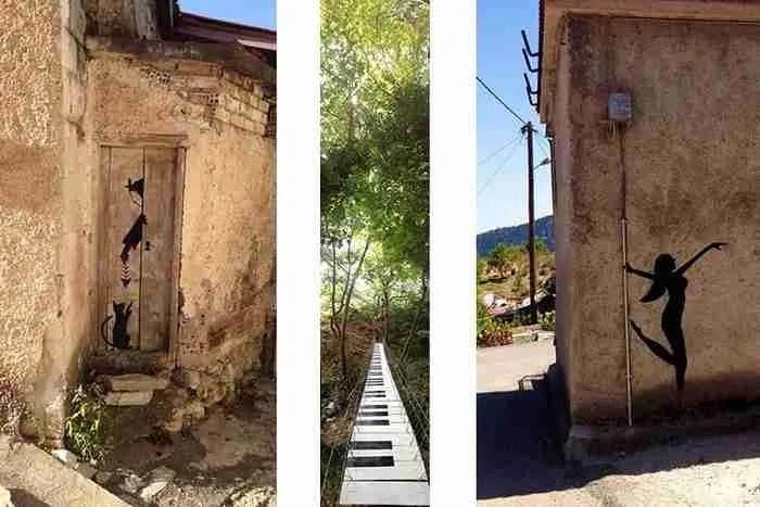 Μια νεαρή γυναίκα μεταμόρφωσε ένα χωριό δίπλα στη Λαμία σε.. υπέροχο παραμύθι!