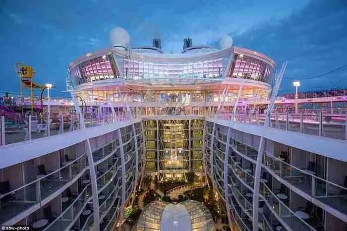 Το μεγαλύτερο κρουαζιερόπλοιο στον κόσμο μοιάζει με μικρή πόλη!