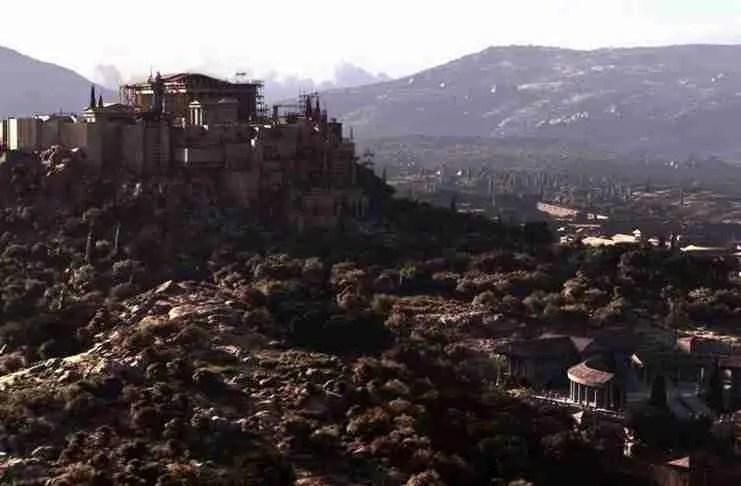 Έτσι ήταν η αρχαία Αθήνα! Η απεικόνιση που συγκινεί και συναρπάζει...