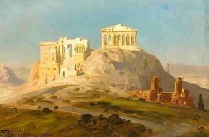 Ernst Carl Eugen Koerner: Άποψη της Ακρόπολης