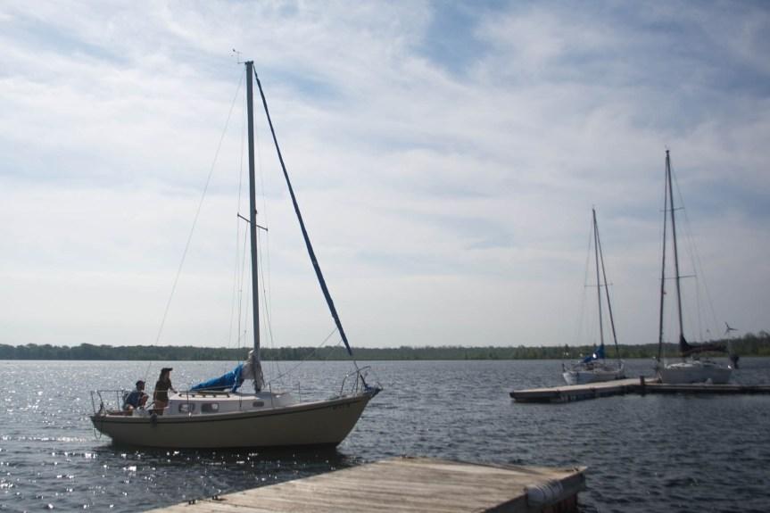 bristol 24, lonely sailor, single handed sailor, live aboard