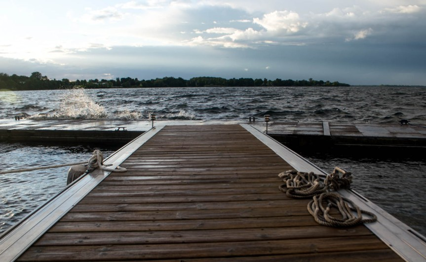 Ladds Landing Marina, Grand Isle VT, sailing Lake Champlain