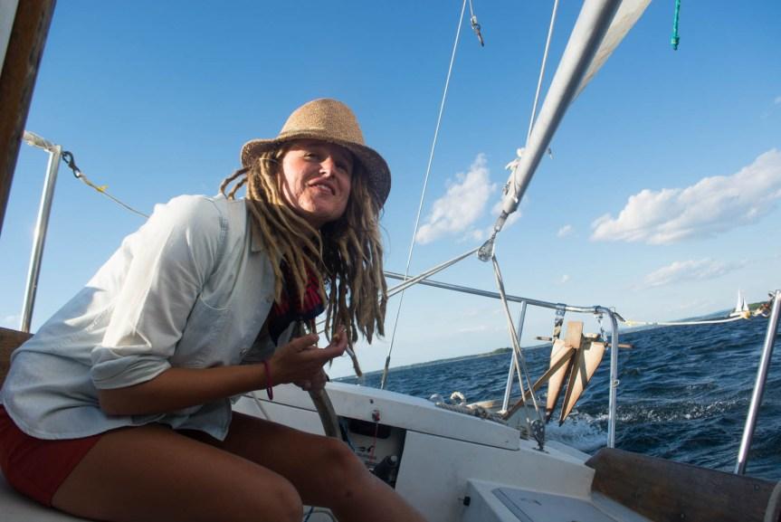 single handed sailor girl, solo sailor, bristol 24