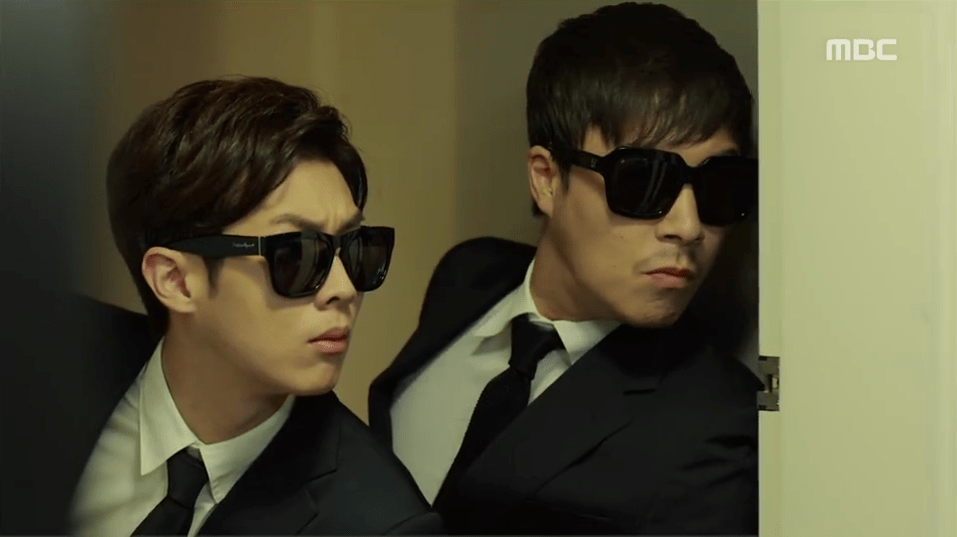 Director Tak and Lee Yong from Fated to Love You