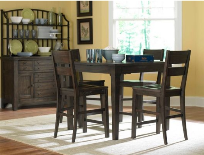 Broyhill Attic Retreat 5pc Counter Dining Table Set In