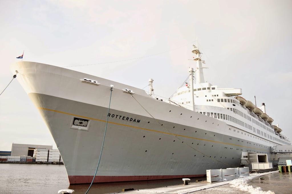Aboard the SS Rotterdam Hotel