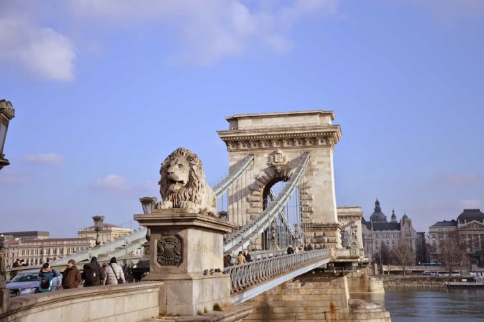 48 Hours in Budapest Chain Bridge
