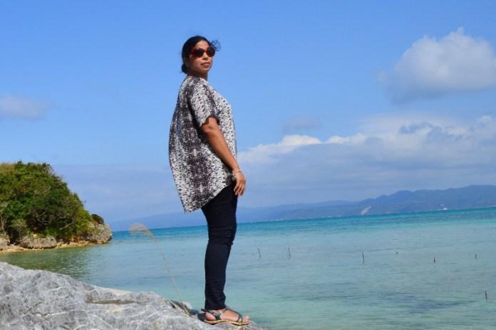 Dining Traveler at Kouri Island Okinawa