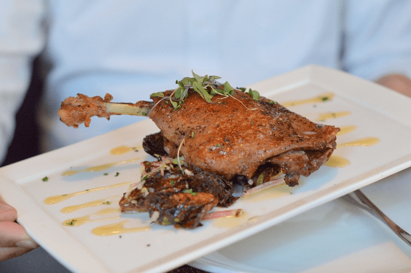 Chef Tim Ma Water and Wall Duck Confit