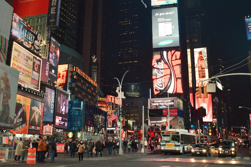Planning a Trip to New York City Times Square