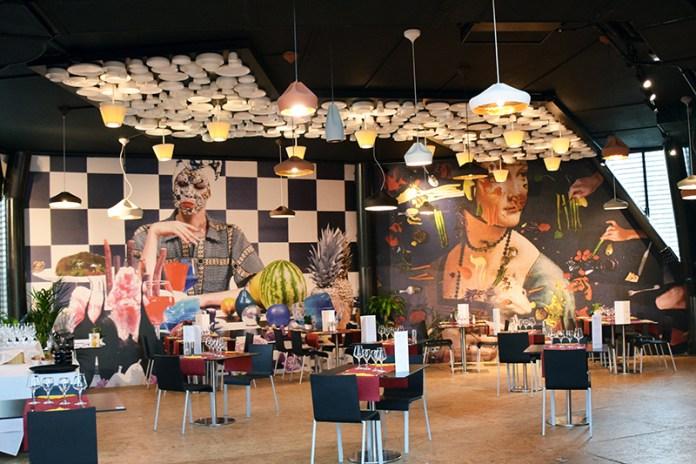 Restaurant at Belgium Pavilion at Expo Milano
