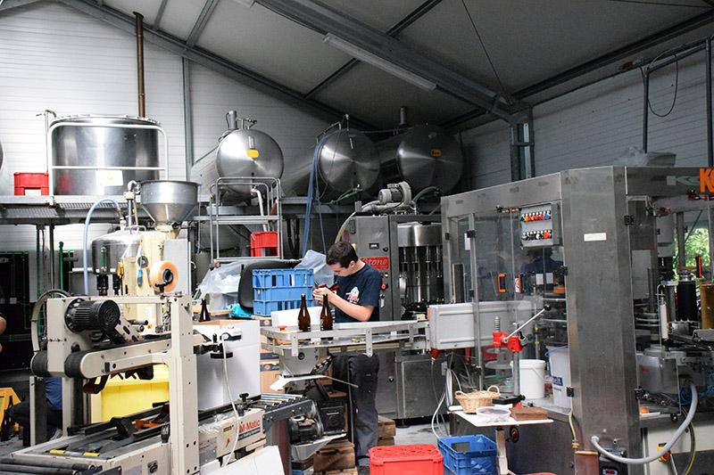 Brasserie de Bastogne Beer Production