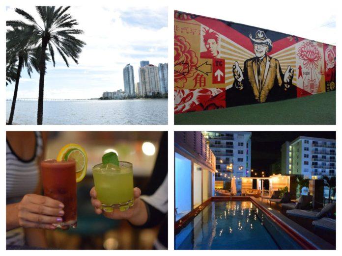 Three Days in Miami Collage