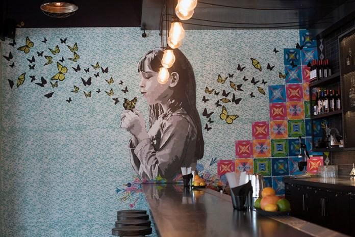 Murals by Yescka at Espita Mezcaleria