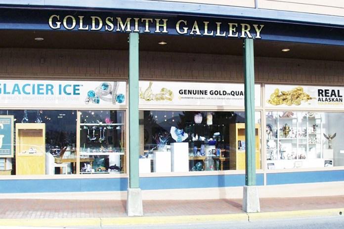 Exterior of Alaska Jewelry Shop, Sitka, Alaska