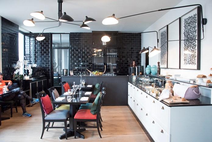 Hotel Les Nuits Antwerp Breakfast Room