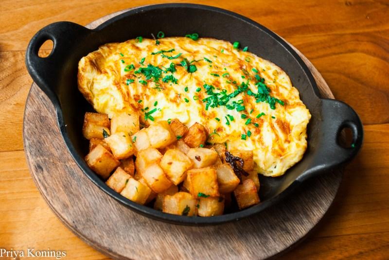 Omelet from Proof DC Brunch Menu