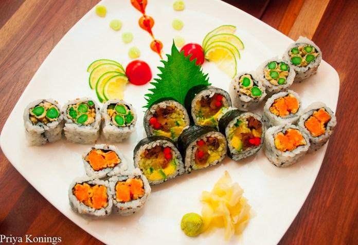 Sushi at Umaya Izakaya