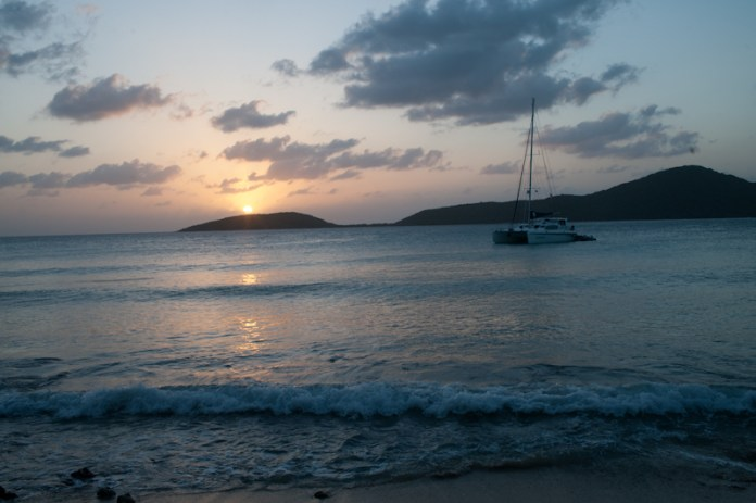 Two Days in Culebra Must Do: Sunset at Melones Beach