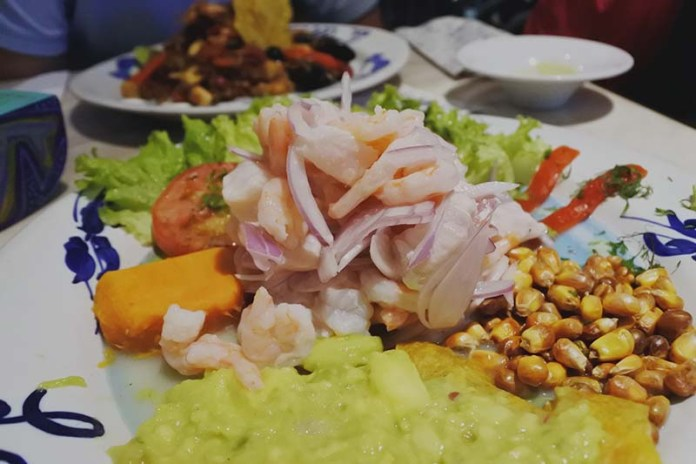 Places to Eat in Cartagena La Cevicheria
