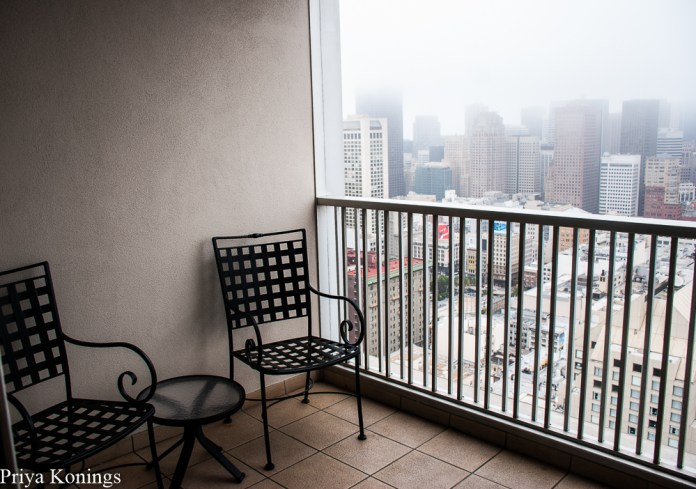 Balcony, Hilton San Francisco Union Square