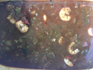 Shrimp, Sausage and Okra Gumbo