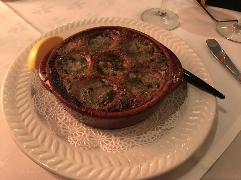 Escargot de Bourgogne, Six Burgundy Snails in Shallot, Garlic and Herb Butter