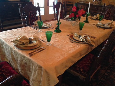 Dining Table Set for 6 People