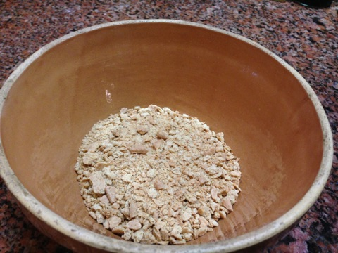Crumbs for St Germain Cheesecake