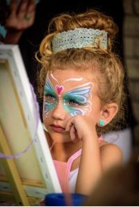 Painting in Tutu's Party- Little Girl concept party