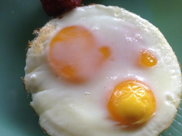 Farm Fresh Eggs prepared in oven