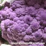 Purple Cauliflower 30 Hours Roadtripping www.diningwithmimi.com
