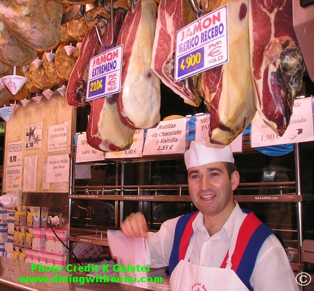 Iberico specialty ham Manchego Frittata Mimi Style