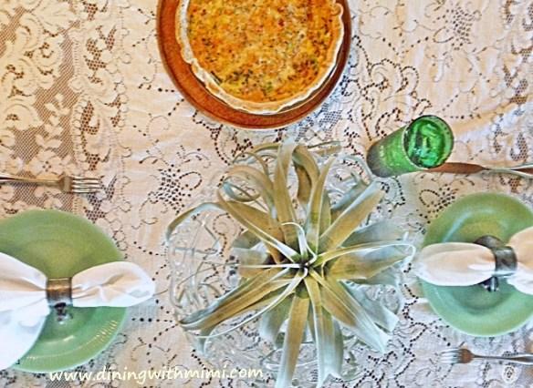 Quiche Albacore Tuna Spiced Up? Wow! www.diningwithcom.com