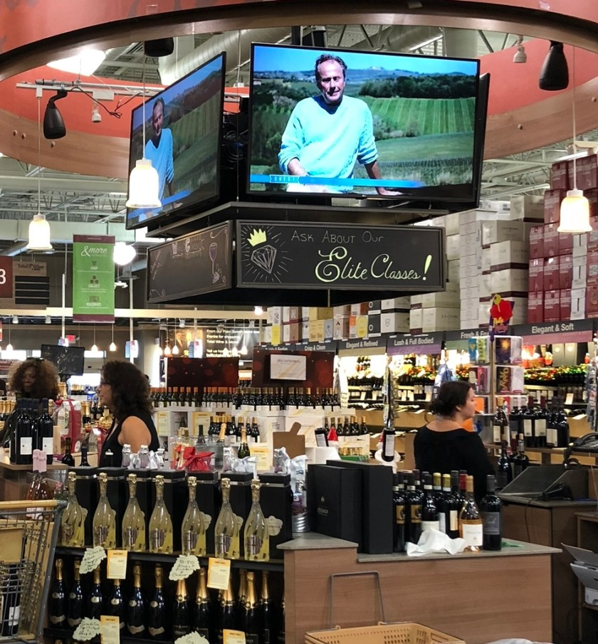 Wine tasting in Total wine Foodie Mecca and Mimi's Travels www.diningwithmimi.com