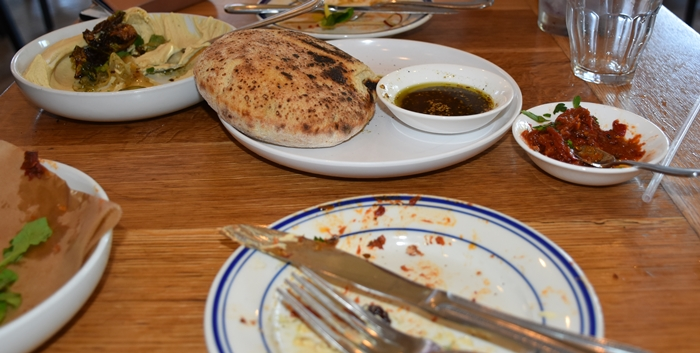Isreali Food at Saba fo Need a quickie-Drop into New Orleans for 48 hours www.diningwithmimi.com
